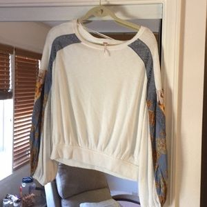 Free People long sleeve top, size M